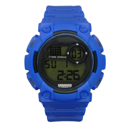 Multi-functional Plastic Digital Watch