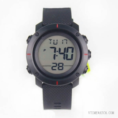 VT-770 Men Sport Waterproof Big Lcd Digital Watch