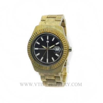 VT-WD1502M Men's Fashion Classic Style Banboo Wood Watch